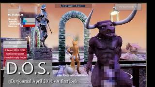 D.O.S. Adult Furry Game Dev-journal: A very first look