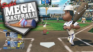 Super Mega Baseball PS4 Gameplay - Season Series is Coming! (What Players Do You Want?)