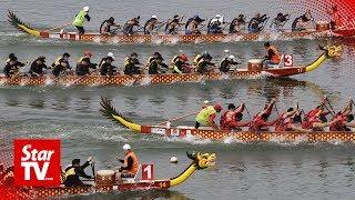 Penang Forward Sports Club is the winner of the Penang International Dragon Boat Regatta