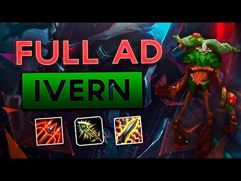 FULL AD IVERN TOP MAKES EVERYONE SHOOK! Full Gameplay and Commentary Patch 8.5 (League of Legends)