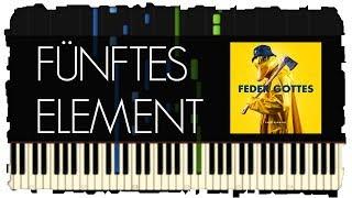 EnteTainment - Fünftes Element | Klavier Tutorial | Synthesia