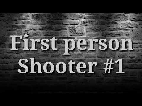 FIRST PERSON SHOOTER 1