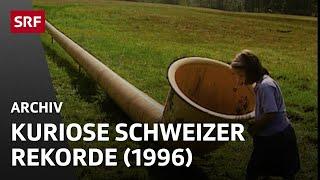 Schweizer Rekorde im Guinness Buch (1996) | Humor und Kuriosa | SRF Archiv