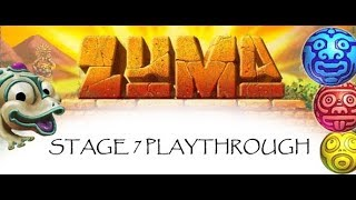 Zuma Deluxe: Stage 7 (7-1 to 7-7) Playthrough