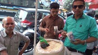 Uncle Ka Nariel Muri Chini | Unique Desi Street Food | Kolkata Street Food