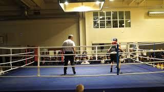 Anthon Zacho, HAK vs. Bertil Brogaard, Hornslet BK - Via FightNight 9 - 25/10-19