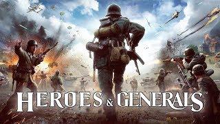 Heroes & Generals занимаем топ места