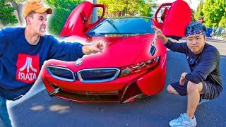 I Stole His BRAND NEW Car! (GONE WRONG)