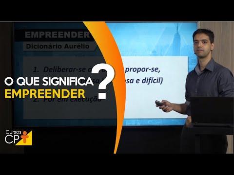 Clique e veja o vídeo Empreender: Coloque uma ideia em ação!