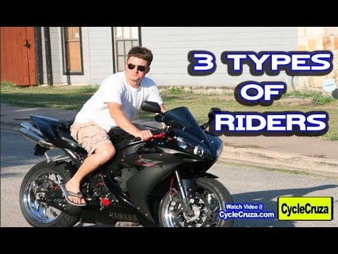 3 Types of Motorcycle Riders