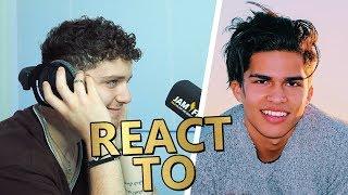 Bazzi REACT TO Alex Aiono ⚡ JAM FM Video