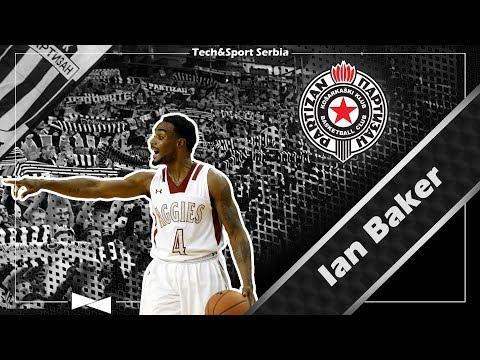 Ian Baker - Analiza igre   KK Partizan 2017/18