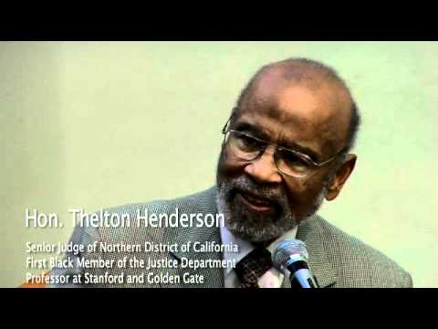 Thelton Henderson: a Civil Rights Lawyer in the Department of Justice