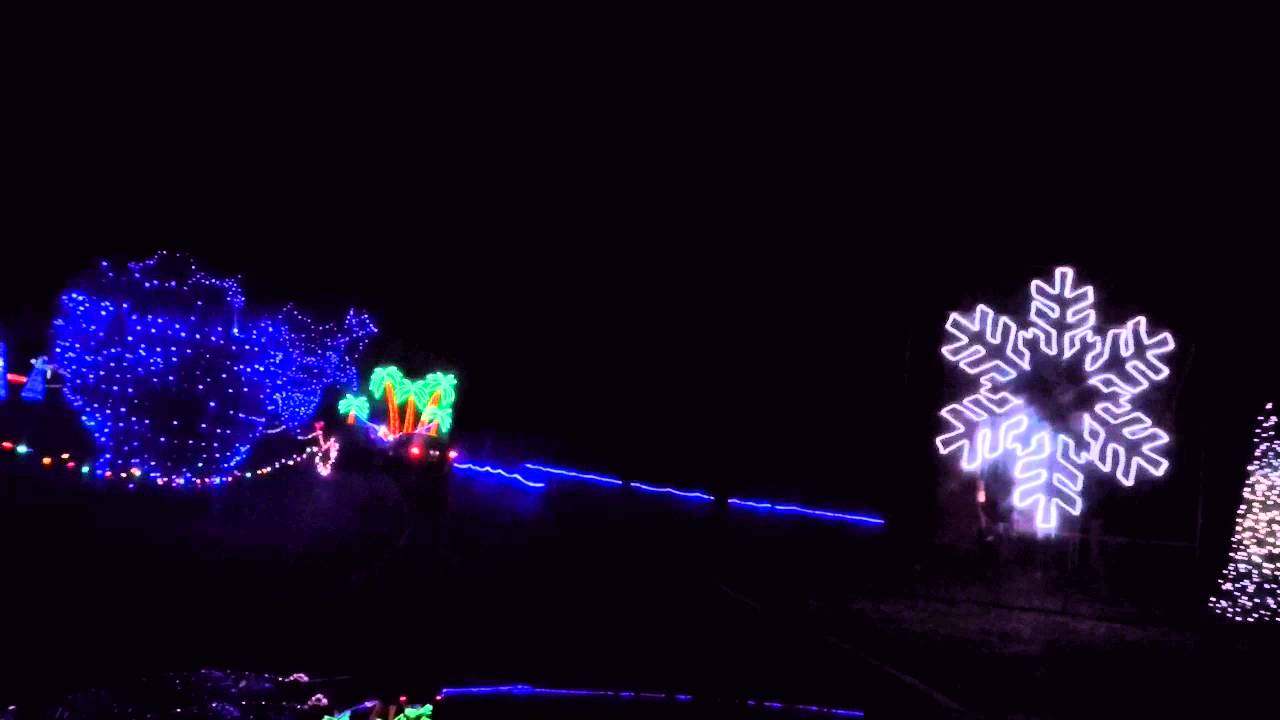GoPro Video of Christmas in the Park at Longview Lake - YouTube