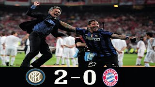 Inter Milan 2-0 Bayern Munich UCL Final 2010●Jose Mourinho Tactical Masterclass● Classic Match