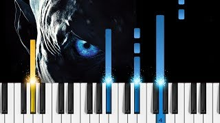 Game of Thrones S8  The Night King  Piano Tutorial