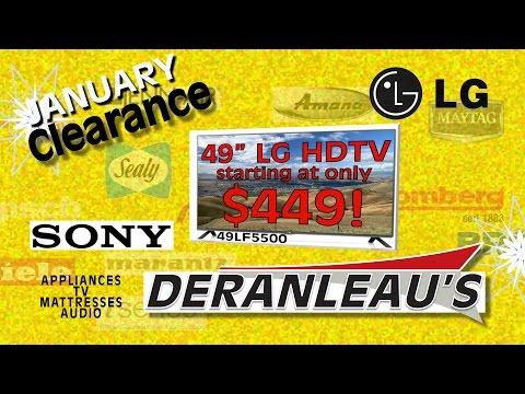 Sony LG January Clearance