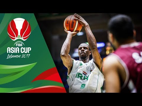 HIGHLIGHTS: Iraq vs. Qatar (VIDEO) FIBA Asia Cup 2017 | August 9