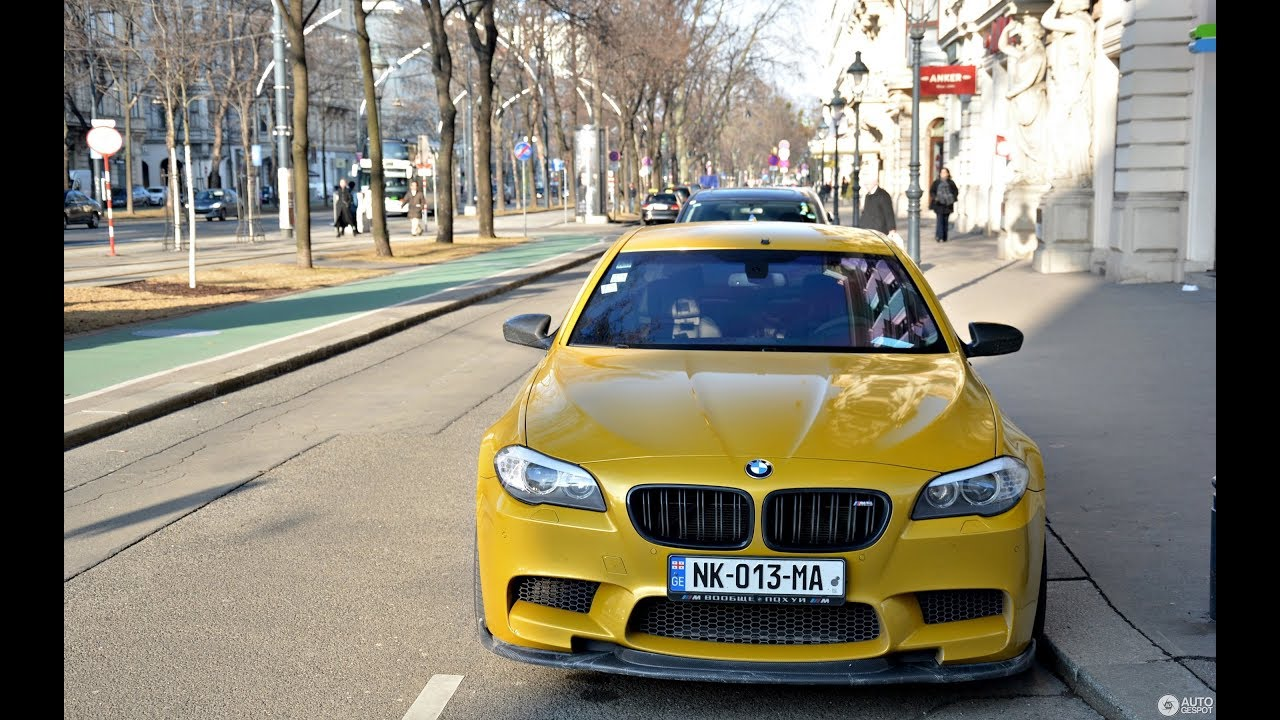 GTP BMW M5 F10 730HP - Tbilisi Night Drift