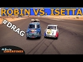 Forza Horizon 3 - RELIANT ROBIN VS. BMW ISETTA - DRAG BATTLE (Live Commentary)