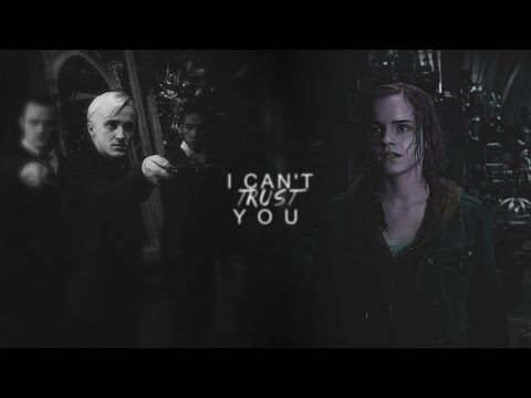 •Hermione & Draco | I can't trust you