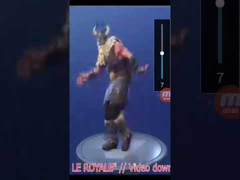 Swipe it emote Fortnite