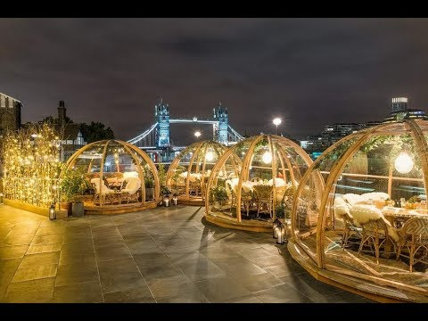 Dine in Riverside Igloos - Tower Bridge London |