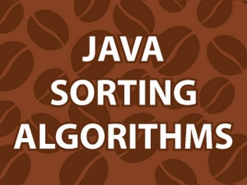 Java Sort Algorithm