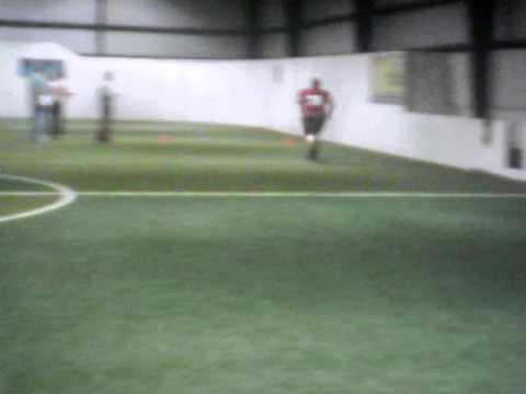 "Red Hawks Combine - Kyle ""Fat Kyle"" Williams 40 yard dash"