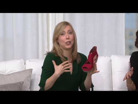 284c0a4540 Clarks Artisan Nubuck Leather Back Zip Wedge Sandals - Clarene Glamour on  QVC - YouTube