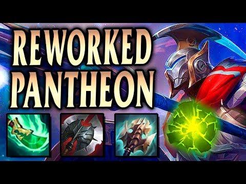 REWORKED PANTHEON FULL METAL TERMINATOR ROAM GOD! - League of Legends S9
