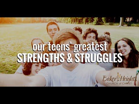 Our Teens' Greatest Strengths & Struggles - CrossTalk Ep. 41