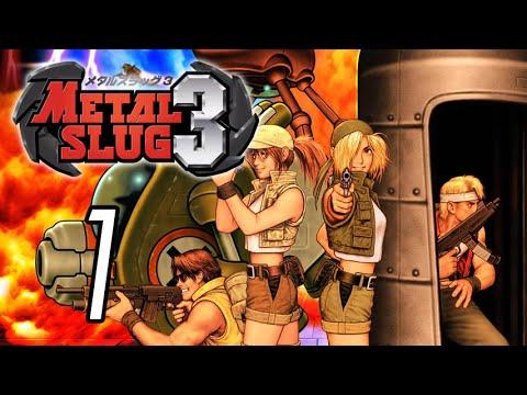 Let's Play Metal Slug 3 [1] Zombies! |