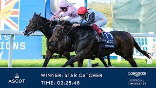 Star Catcher Wins The QIPCO British Champions Fillies & Mares Stakes