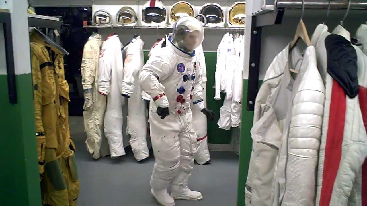 Al Walser Moonwalking In original NASA Space Suit ...
