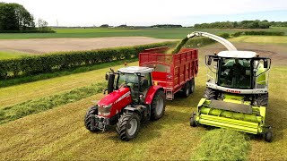 TRACTORS? HUGE CHOPPER? IT'S SILAGE TIME !! + NHS SURPRISE AT THE END