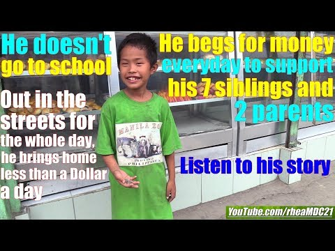 Travel to the Philippines and Meet this Boy Who Begs for Money. Life in Cuba and the Cuban Society
