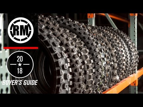 Dirt Bike Tire Buyer's Guide | 2018
