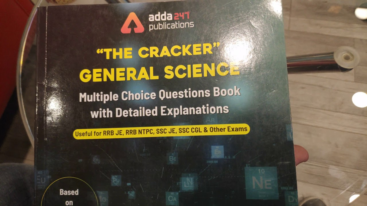 Best General Science & Awareness Books | RRB JE, NTPC, SSC | 5000+ Questions