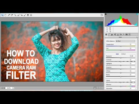 How To Download And Install Camera Raw Filter For Photoshop Cs6 And Cc