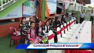 Lady Riders Cambodia in Dainam International Race 2018 Vietnam