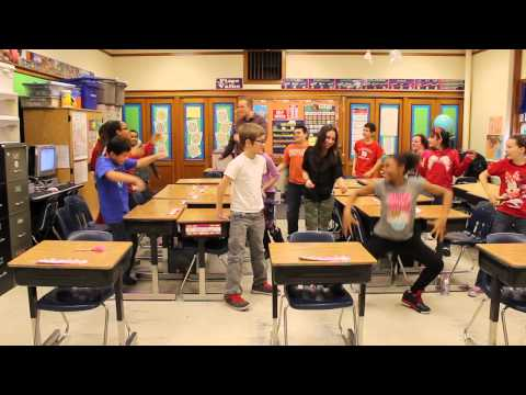 Pharrell Williams - Happy at Lakeside Elementary School