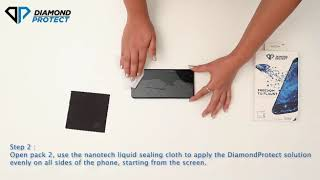 How to apply Diamond Protect