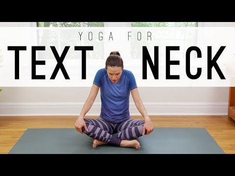 Yoga For Text Neck|Yoga With Adriene