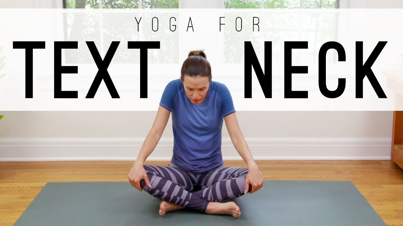07e0923e8f664 Yoga For Text Neck   Yoga With Adriene - YouTube