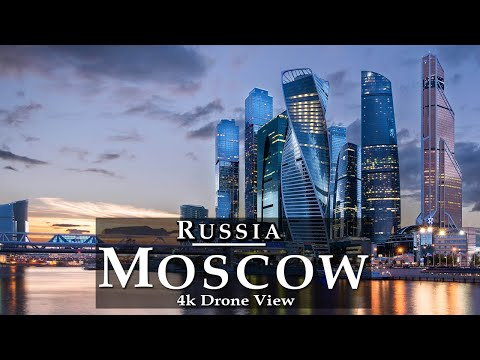 Moscow, Russia 🇷🇺 - by drone [4K HD] | Москва Россия Аэросъемка - Capital of Russia Skylines