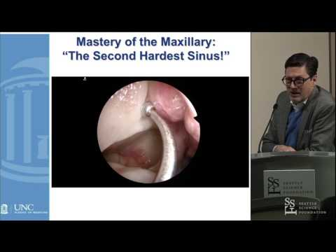 Surgically Mastering the Ethmoid and Maxillary Sinuses - Brent A. Senior, MD, FACS, FARS