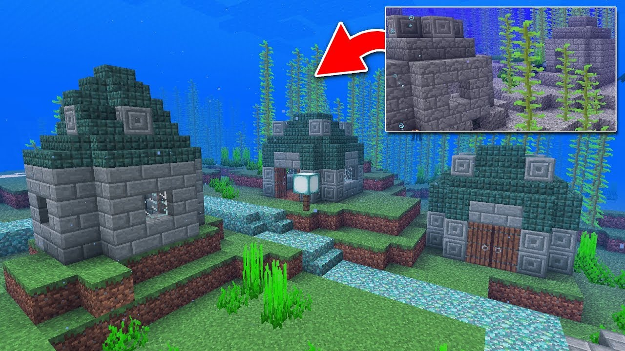 how the new ruins used to look minecraft snapshot. Black Bedroom Furniture Sets. Home Design Ideas