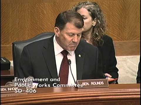 Chairman Mike Rounds Opening Statements at EPW Subcommittee