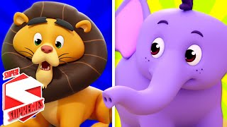 Zoo Song For Children | Nursery Rhymes For Kids By The Supremes